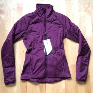 Lululemon Run For Cold Jacket Plum Sz 4 Primaloft